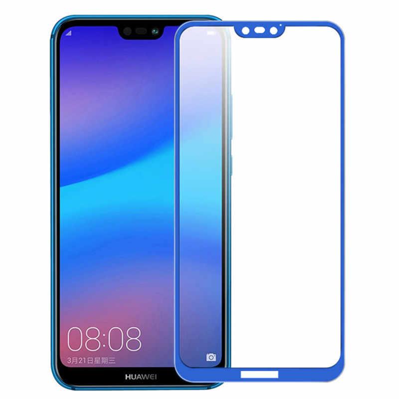 3D Full Cover Tấm Kính Bảo Vệ Cho Huawei P20 Lite P20 Pro Màn Hình Có Kính Cường Lực Cho Huawei P20 Lite P20Lite Cường Lực bộ Phim Glas