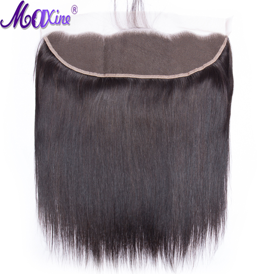 Maxine Hair Ear to Ear Lace Frontal Closure 13X4 Free Part With Baby Hair Pre Plucked
