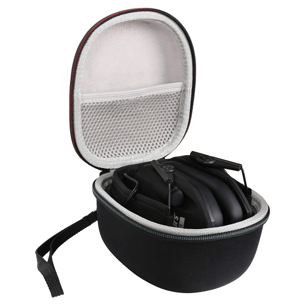 2019 Newest EVA Carrying Travel Cover Bag Case for Walkers Game Ear Razor Slim Electronic Muff with Mesh Pocket for Accessories2019 Newest EVA Carrying Travel Cover Bag Case for Walkers Game Ear Razor Slim Electronic Muff with Mesh Pocket for Accessories