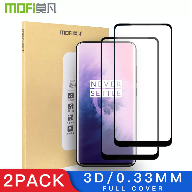 3D Glass For Oneplus 7 Protective Flim Mofi Oneplus 7 Pro Tempered Glass Full Screen Oneplus 7 Pro Screen Protector