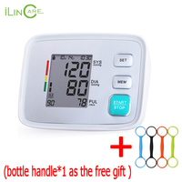 ilincare Blood Pressure Monitor Upperr Arm Heart Beat Meter Pulse Monitor Automatic Sphygmomanometer Patient Monitor Nibp Cuff