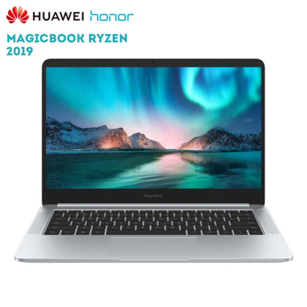 Huawei originais Honra MagicBook 2019 polegada Laptop Windows 10 14 AMD Ryzen 5 3500U NVMe 8 GB 256 GB PCIe vega 8 Radeon SSD PC