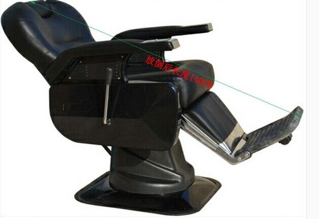Poltrona da barbiere. sedia girevole può mettere giù può sollevare