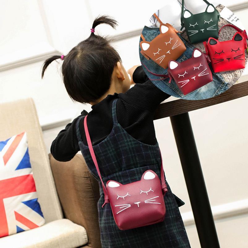 21e642adb379 Kids Messenger Bag Cute Princess Baby Girls Sweet Lovely Clutch Purse PU  Leather Crossbody Bags Children Shoulder Bag on Aliexpress.com