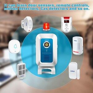 Image 3 - Kerui ワイヤレス警報システム 32 トーン歓迎/ドアベル//夜の光ホストと人フロー統計アプリ制御 wifi ドアベル