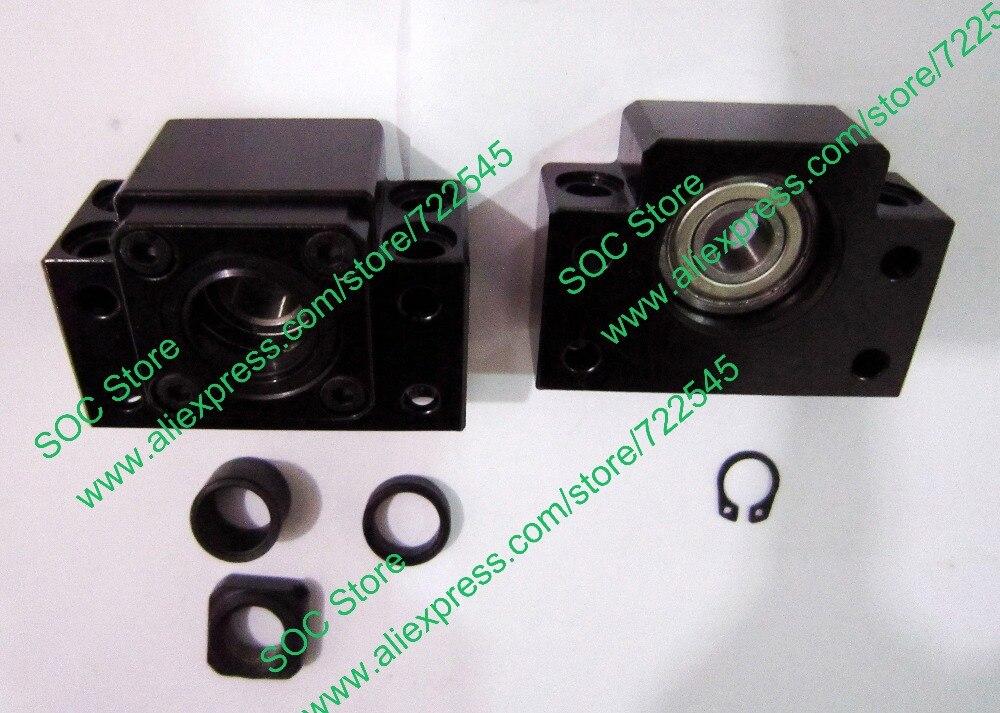 Pièces de CNC de Support d'extrémité de vis à billes BK15 & BF15