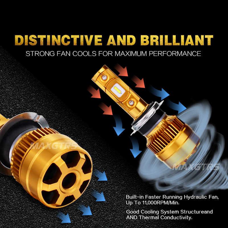 2x 8000Lm 60W Car Led Headlight Blubs H7 H4 LED Bulbs Lamp H1 H11 9005 9006 H8 880/881 6000K Auto Light Headlamp Conversion Kit