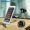 Universal 360 Degree Car Mount Sticky Magnetic Stand Holder Long arm  For Smart Phone iPhone GPS for samsung LG  Huawei xiaomi