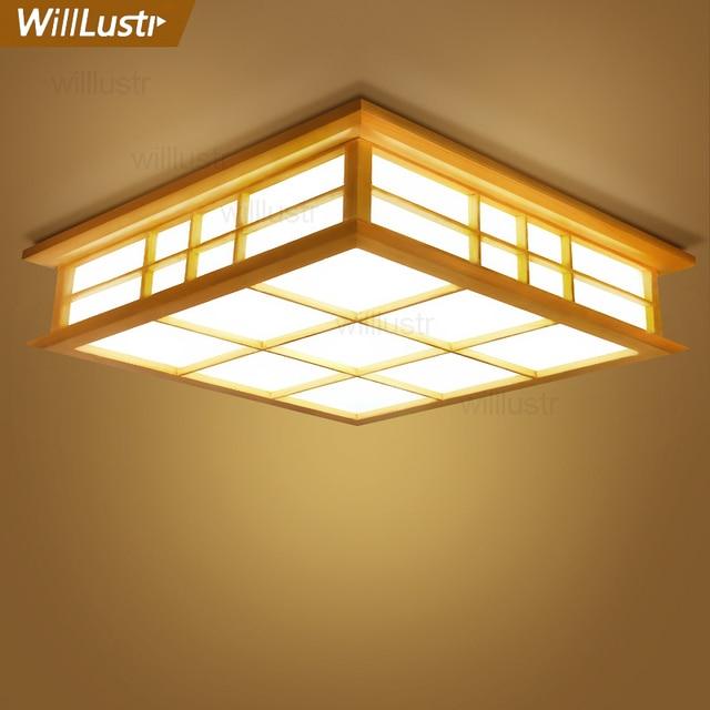 Bedroom Wooden Ceiling Light