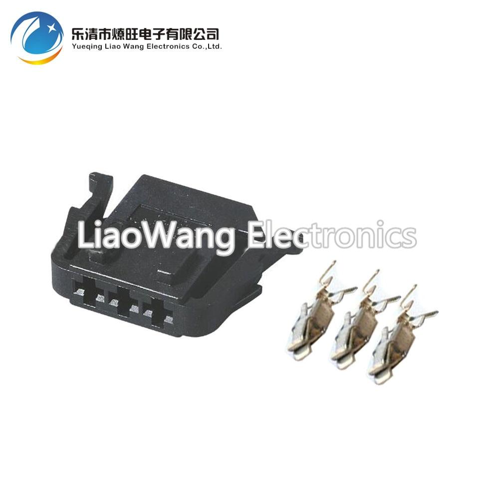 5pcs Volkswagen Harness Sensor Plug Connectors Automotive Wiring Vw Dj70324 35 21 18