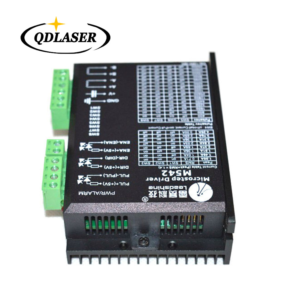 цена на Leadshine 2 Phase Analog Stepper Drive M542 for Driving 2-phase and 4-phase Hybrid Stepping Motors