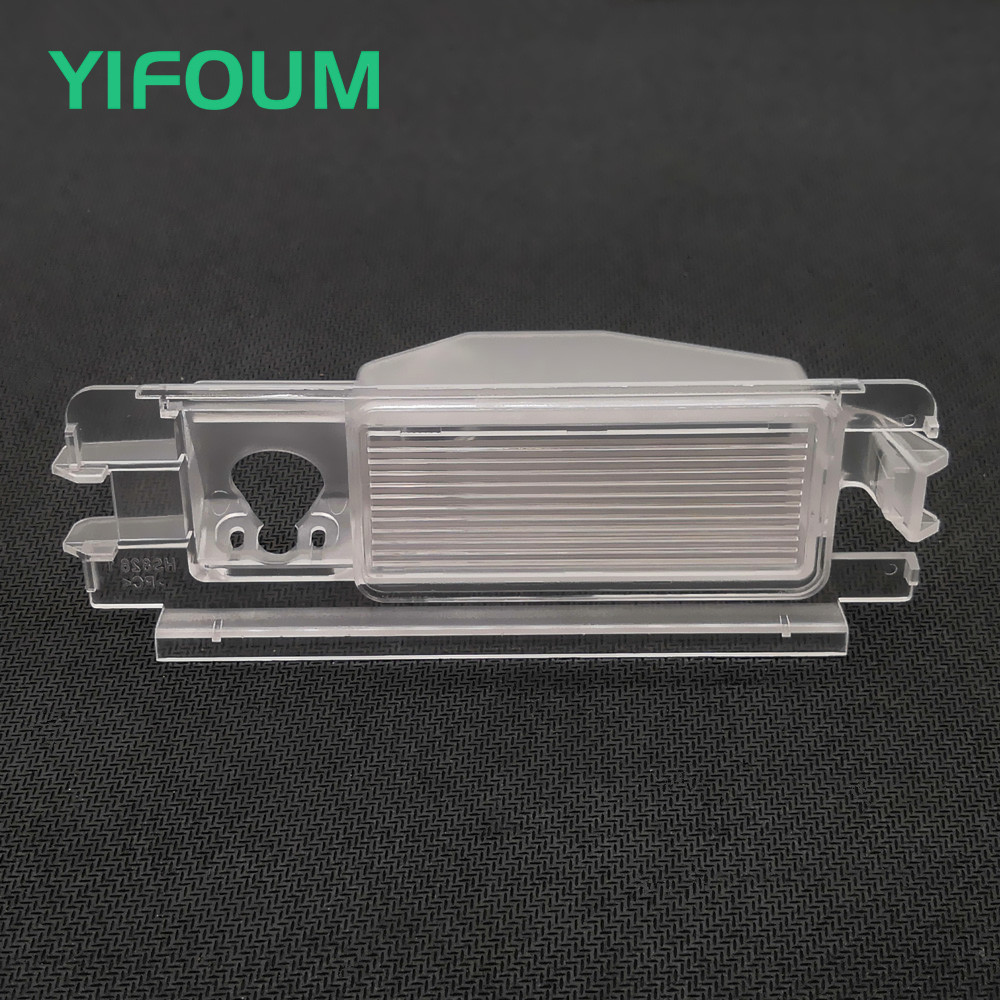 YIFOUM Car Rear View Camera Bracket License Plate Lights Housing for Renault Pulse Clio 2 Logan Sandero Stepway|Vehicle Camera|   - AliExpress