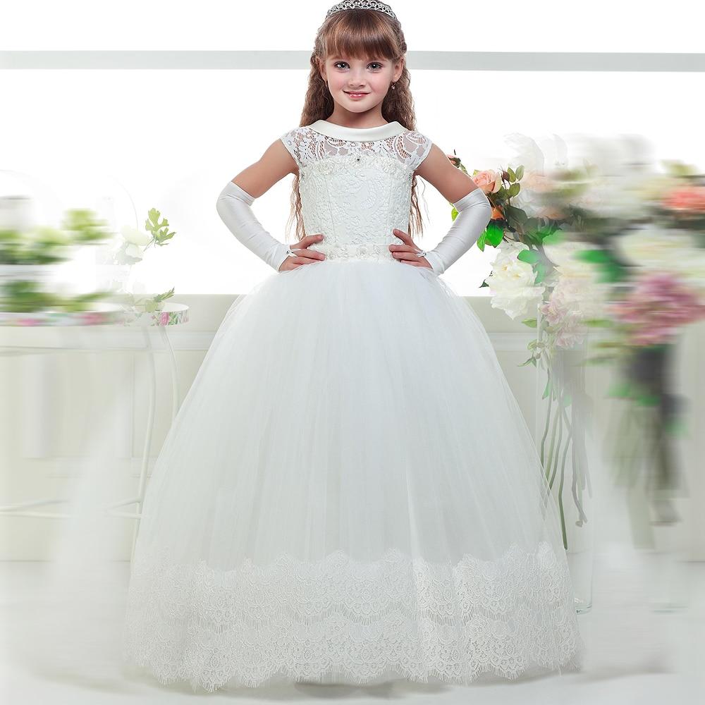 Vestidos blancos de la primera comunion