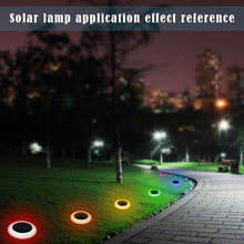 Waterproof LED Outdoor Garden Light Solar Powered Landscape Yard Color Changing LED Lawn Night Decorative Lamp Battery Include(China)