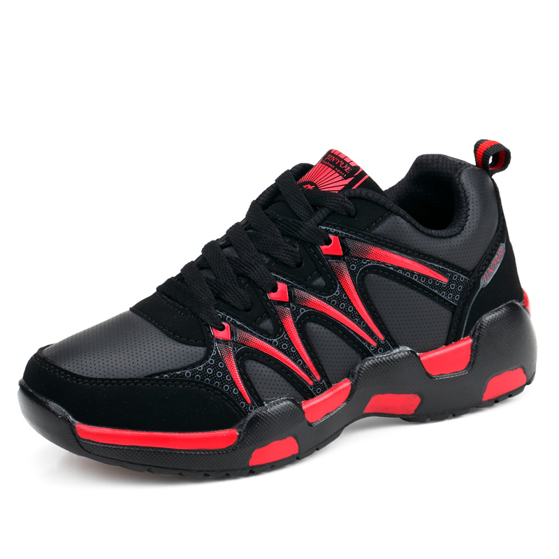 2017 Autumn Winter Walking Running Shoes for Men Blue Red Women Luxury Sneakers Leather Warm Sport Trainers Mens Fitness Sport