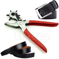 A96 Free Shipping 1PC Revolving Watch Band Belt Leather Strap Punch Plier Hollow Hole Stamp Puncher