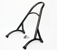 Motorcycle Black Passenger Backrest Sissy Bar For Harley Sportster XL883 1200 48 2016
