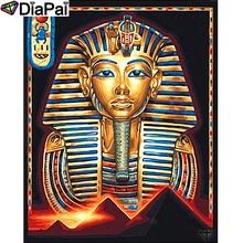 DIAPAI Diamond Painting 5D DIY 100% Full Square/Round Drill Religious pharaoh Diamond Embroidery Cross Stitch 3D Decor A24550 diapai 100