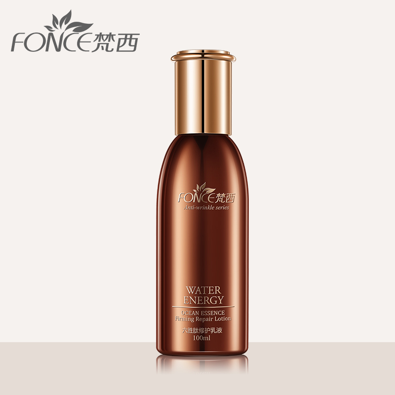 Fonce Korea Anti Wrinkle Repair Lotion Six Peptides Essence Moisturizing Face Firming Anti Aging Serum Facial Milk 100ml