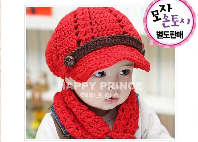 a0ad23adc4a71c Christmas hat 2014 NEW Handmade Children Baby Hats Caps Cingulate Solid  Color Caps Baby Boy Winter Hats baby crochet hat-in Hats & Caps from Mother  & Kids ...