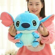 30/35/40 Cm Soft Plush Stitch Plush Doll Toys Anime Foam Particle Stuffed Stitch Plush Toys For Children Kids Birthday Gift original 50 cm minnie mouse doll big plush soft mickey stuffed doll anime girl birthday gift children kids baby toys