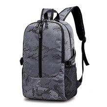 Купить с кэшбэком USB Charging Backpack Waterproof Notebook Computer Bag  Rucksack High Quality Unisex  Laptop Travel Bags For Teenage 2019