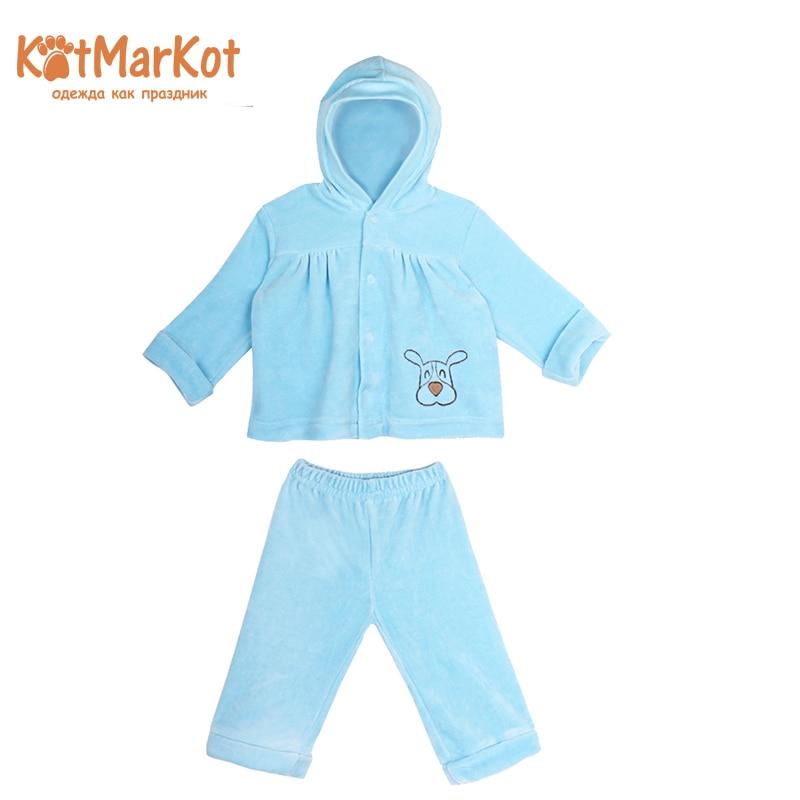 Package: blouse and pants, Boys, Kotmarkot, 2807 set with a hood blouse and pants boys kotmarkot 2817