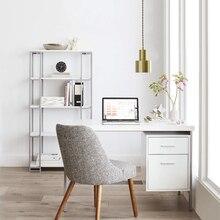 Nordic Postmodern Led Pendant Light Cord Metal Copper Industrial Hanglamp Bedroom Kitchen Bar Design Lamp Loft luminária