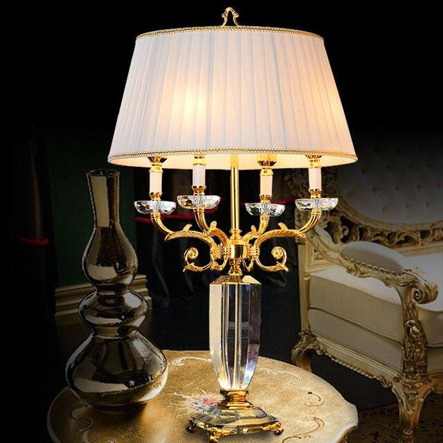 Kristall tisch lampen für wohnzimmer led kristall tisch lichter für ...