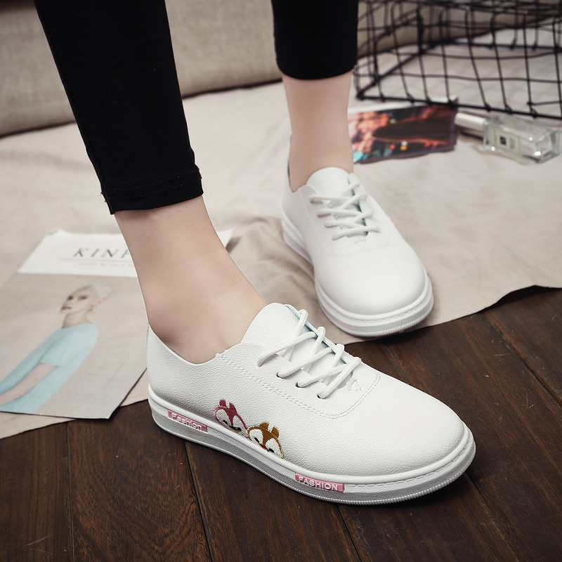 Spring womens Vulcanized Shoes Black Leisure Canvas Shoe Summer women Sneakers Fashion Trend Lace-up Flat with Shoes female