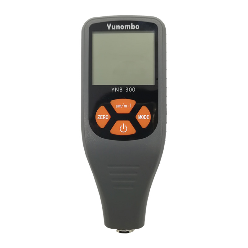 YNB-300 Digital Coating Thickness Gauge 0-1300um Car Paint Film Thickness Tester Meter Measuring FE/NFE Russian Manual digital coating thickness gauge 1 micron 0 1300 fe nfe car paint film auto gy910 digital thickness tester meter english russian