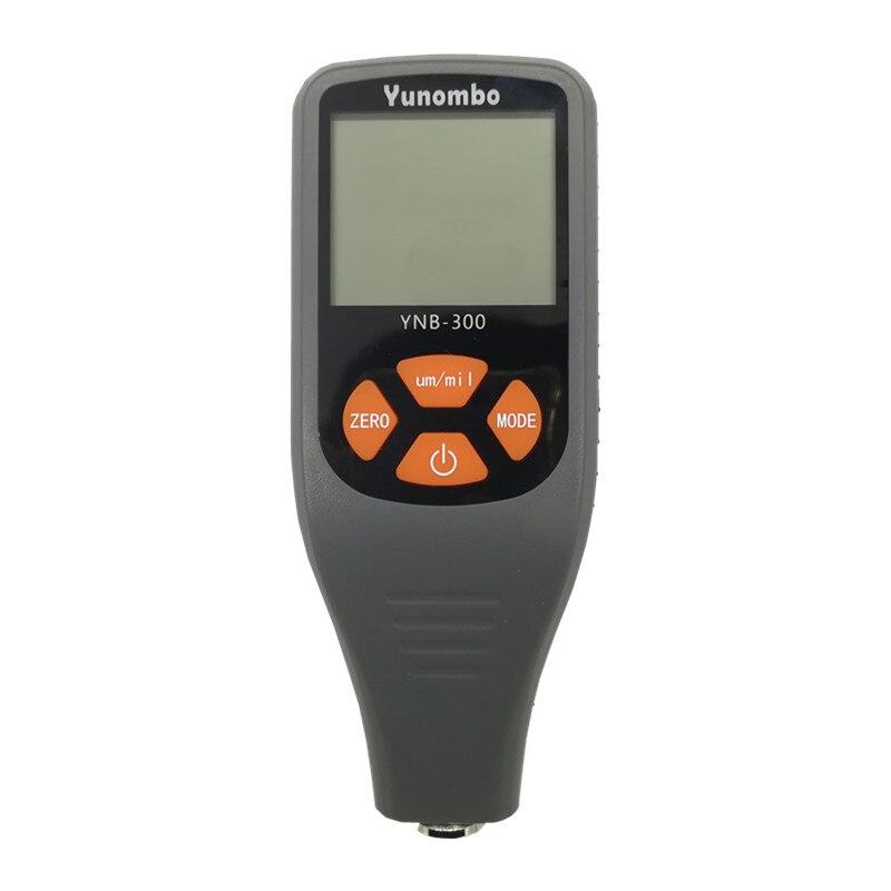 Tester di Spessore della Vernice Digitale Calibro di Spessore per Mini Display LCD Strumento per Test del Misuratore di Spessore del Rivestimento per Auto