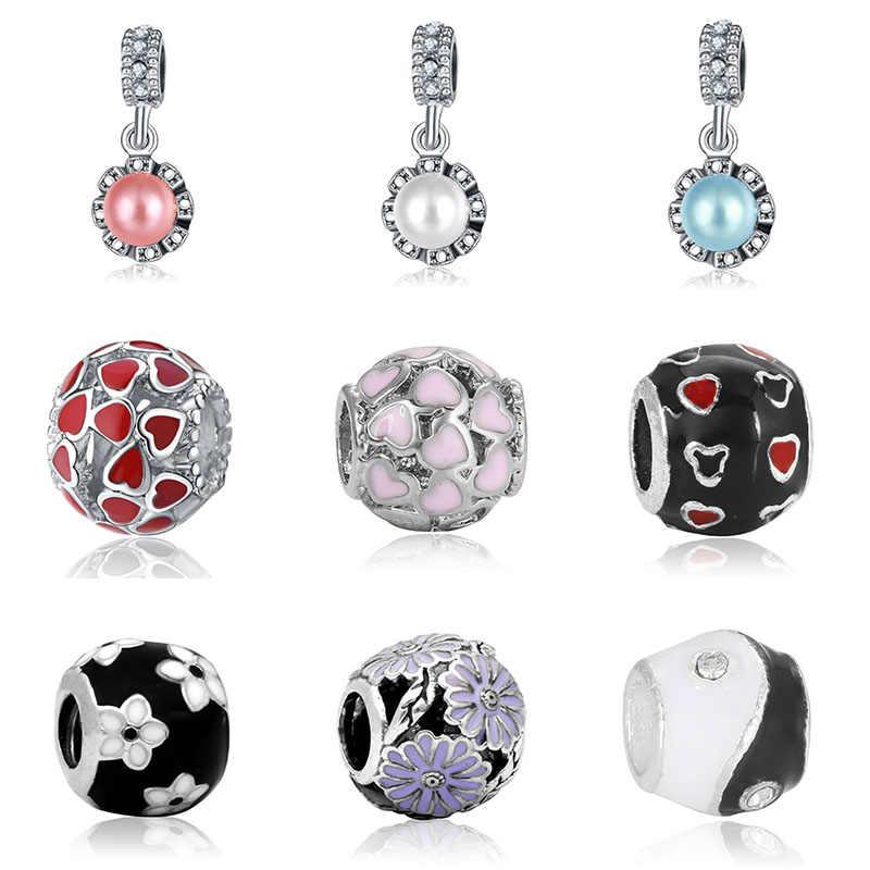 DIY  bracelet everlast charms princess bijoux silver perfumes mujer originales necklace charm jewelry beads