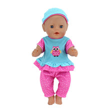 11style Color Choose clothes+Hat Wear for 17 inch 43cm baby