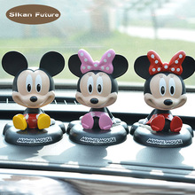 Cute Shaking Head Doll Car Decoration Article Jewelry Interior Crafts Toys Europe Japan Cartoon Model Gift