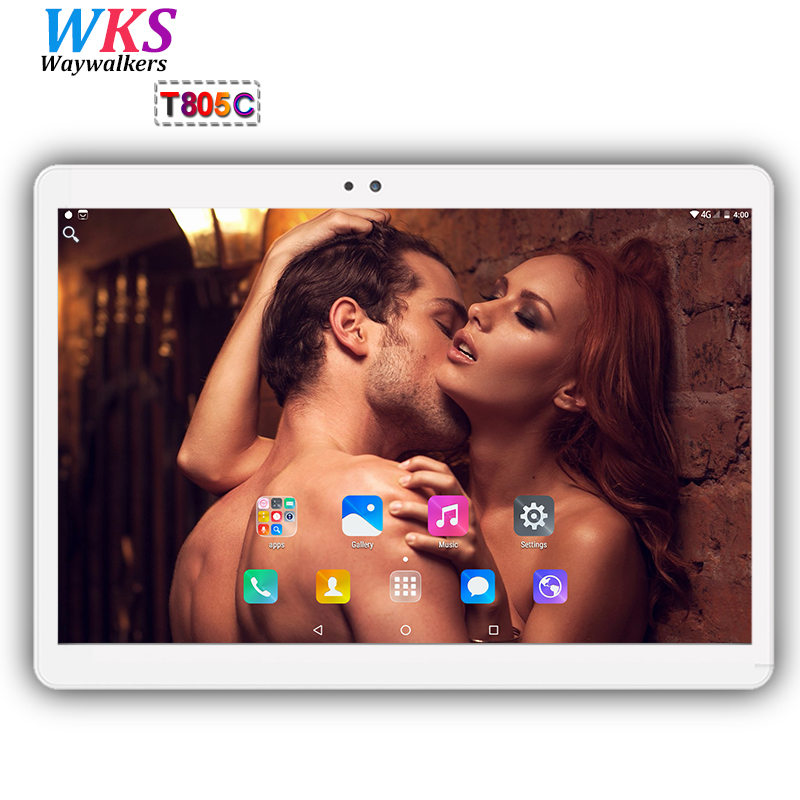 Free shipping 10 inch Tablet PC Android 7.0 4GB RAM 64GB ROM Octa Core 8 Cores Dual Cameras wifi 1280*800 IPS Phone Tablets+Gift 2018 newest octa core 8 cores 10 inch tablet pc 4gb ram 64gb rom android 7 0 dual cameras 5 0mp 1280 800 ips phone tablets gifts