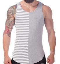 ZOGAA Fitness Clothing Mens Tank Tops Fashion Stitching Men Clothes 2018 Gym Top Plus Size S-XXXL Sleeveless Blouse