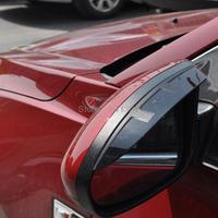For Mazda CX 5 CX5 2012 2013 2014 2015 Rain Shade Awnings Plastic Side Door Mirror