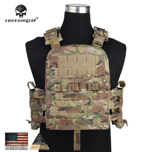 Emersongear Hunting Tactical Vest Airsoft Combat Body Armor EMERSON ...
