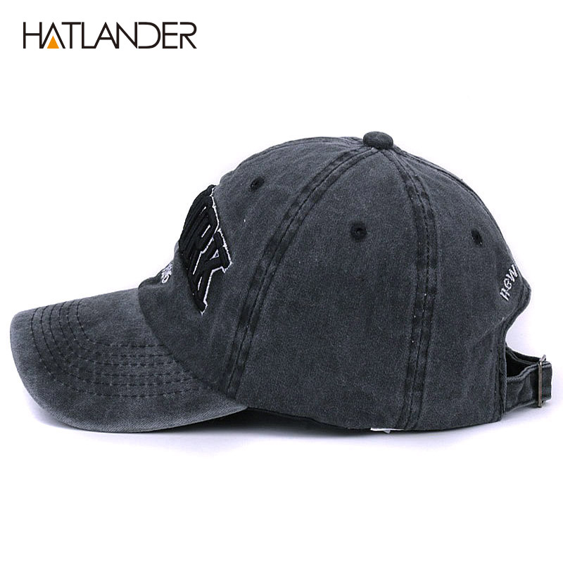 6e28046c Washed 100% cotton baseball cap hat for women men vintage dad caps ...