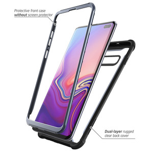 Image 2 - For Samsung Galaxy S10 Plus Case 6.4 inch i Blason Ares Full Body Rugged Clear Bumper Cover WITHOUT Built in Screen Protector