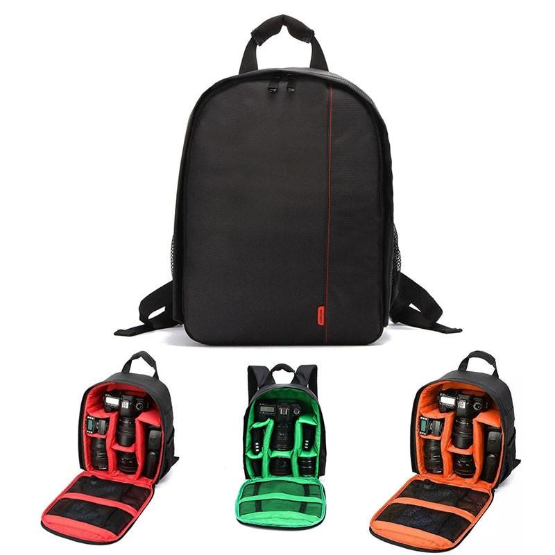 Waterproof Multi-functional Digital DSLR sport Camera Video  Bag Small DSLR Nikon Canon Camera sport Backpack for Photographer