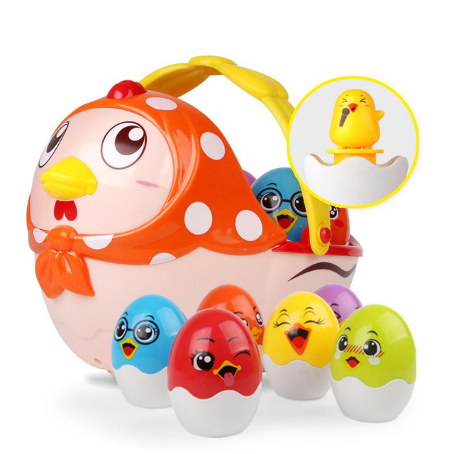 Education Electric Chick Innovative Learning Toys Baby Toys Story Machine Learning Toys Baby Sleeping Learning Best Gifts