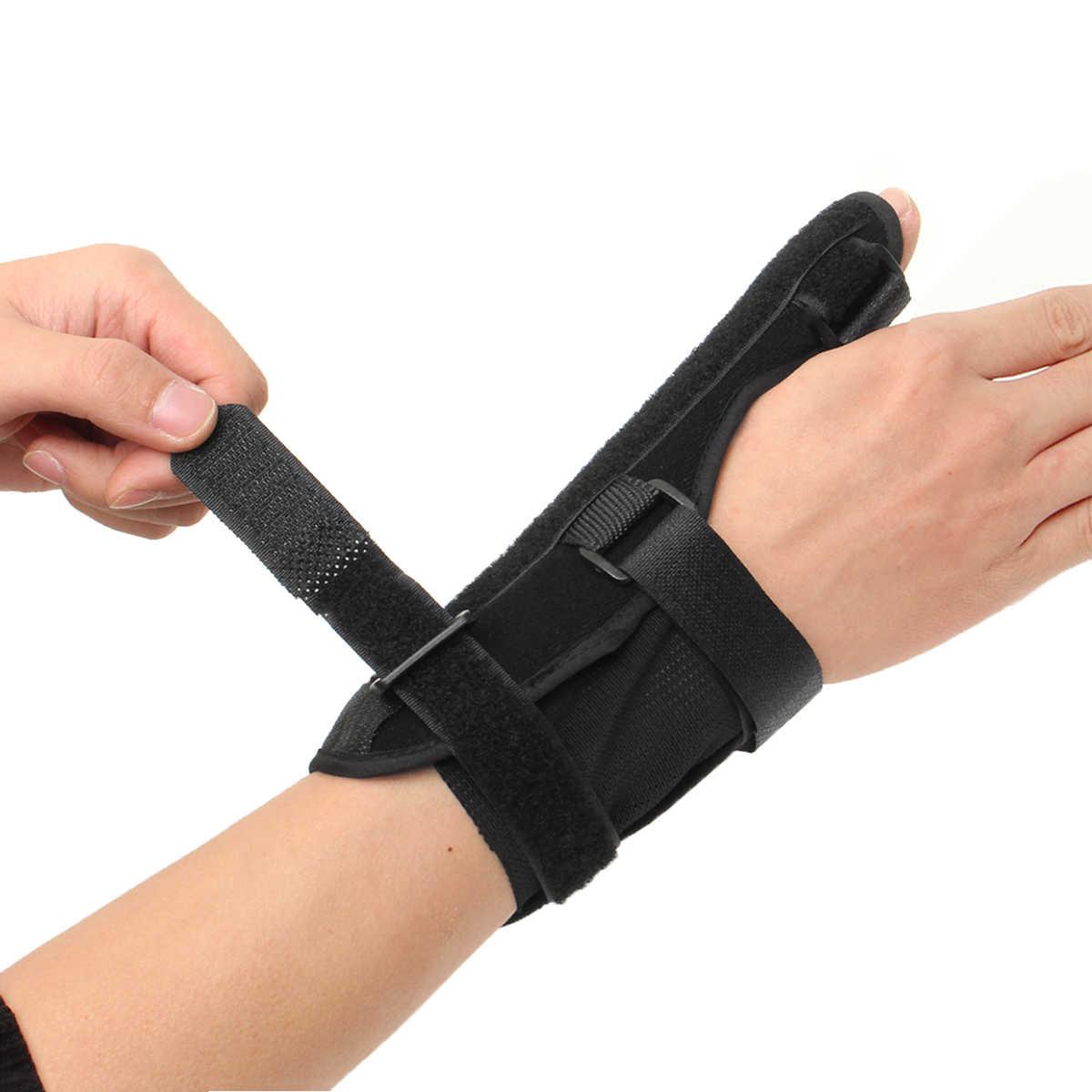 Фиксатор для большого пальца, фиксатор для поддержки запястья, спортивный ремень, стабилизатор артрита, коррекция травм, палец, боль, шина, защита сухожилия