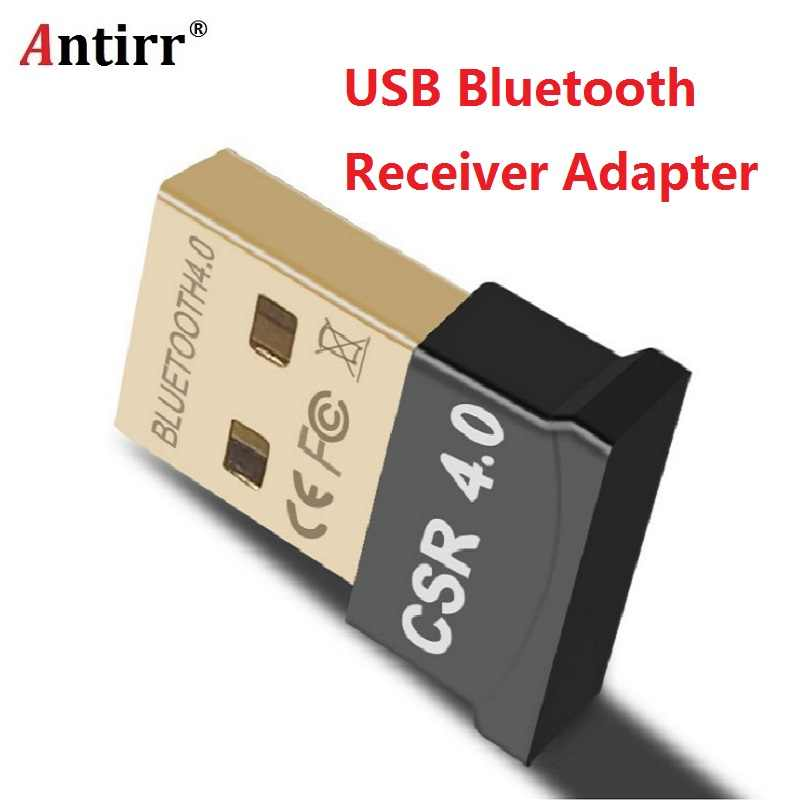 Mini USB Bluetooth Adapter V4.0 CSR Dual Mode Wireless Bluetooth Dongles Music Sound Receiver For Windows 10 8 7 Vista XP