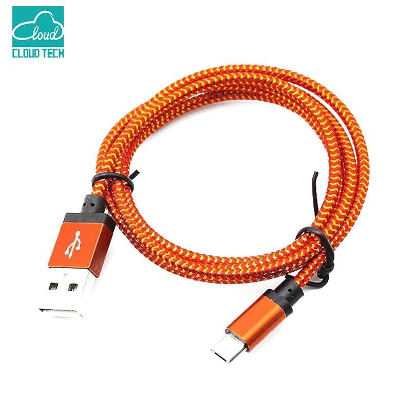 Go2linK 1M/2M/3M 3M Aluminum Nylon Braided V8 Micro USB 2.0 s