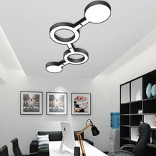 Modern Creative LED Ceiling Lighting Fixture Surface Mounted lamp Simple Household Ceiling Light Flush Mount Light modern led ceiling light lighting fixture lamp plafoniera round ceiling lamp hallway living room ceiling flush lighting reading