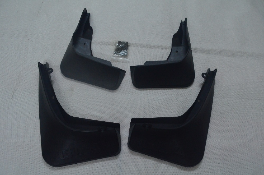 NEW!  4pcs Mud Flaps Splash Guards For Mercedes Benz X156 GLA200 GLA250-in Mudguards from Automobiles & Motorcycles    1