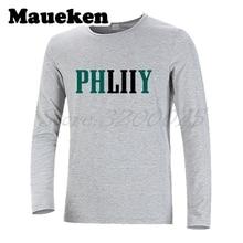 Men Long Sleeve 2017 2018 Philadelphia Philly phliiy LII World Champions  Foles T-Shirt Eagles T Shirt Men s Winter W18020225 a01ee9654