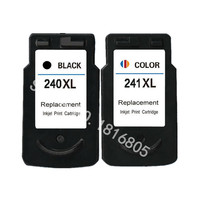 2PCS PG240 CL241 XL Ink Cartridge For Canon PG 240 CL 241 Ink For Canon PIXMA